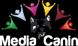 logo media canin, médiation et assistance par l'animal
